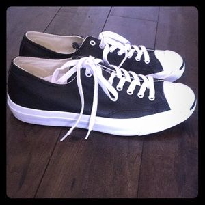 Converse leather Jack Purcell 9.5 men's